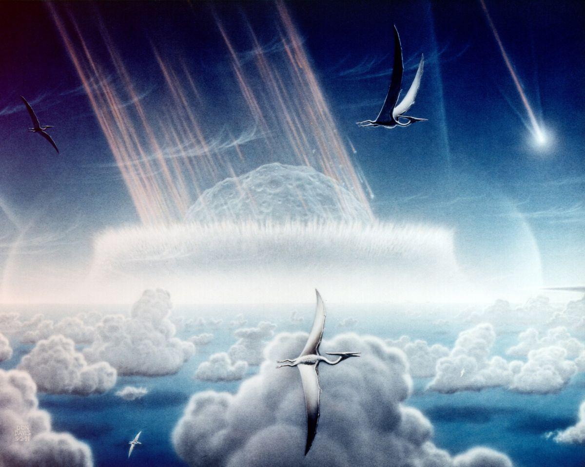 El asteroide que aniquiló a los dinosaurios convirtió los océanos en ácido, dice un estudio impactante