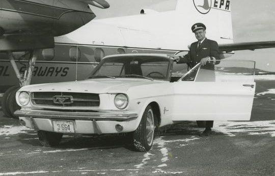 El primer Mustang en ser fabricado se vendió por error, mira dónde está ahora