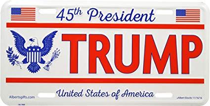 """Niegan a un hombre personalizar sus placas con el nombre de """"TRUMP"""" por """"ofensivo"""""""