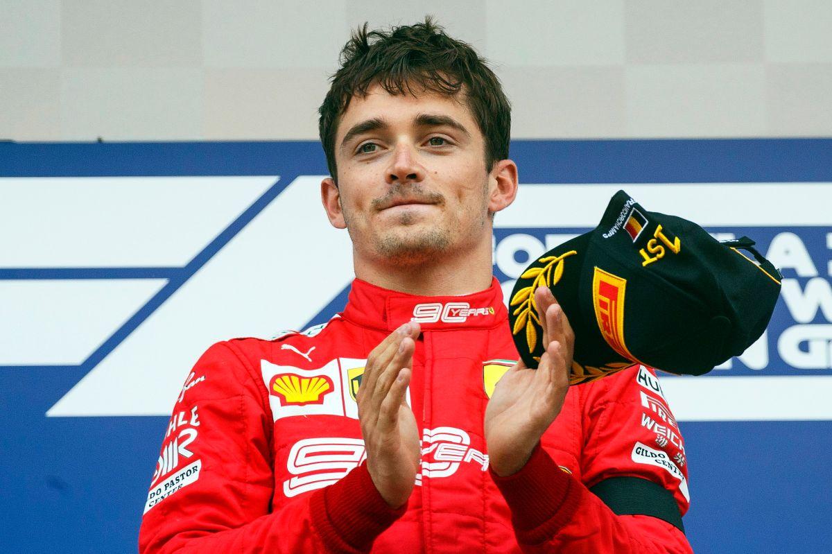 El niño maravilla Leclerc firma con Ferrari hasta 2024