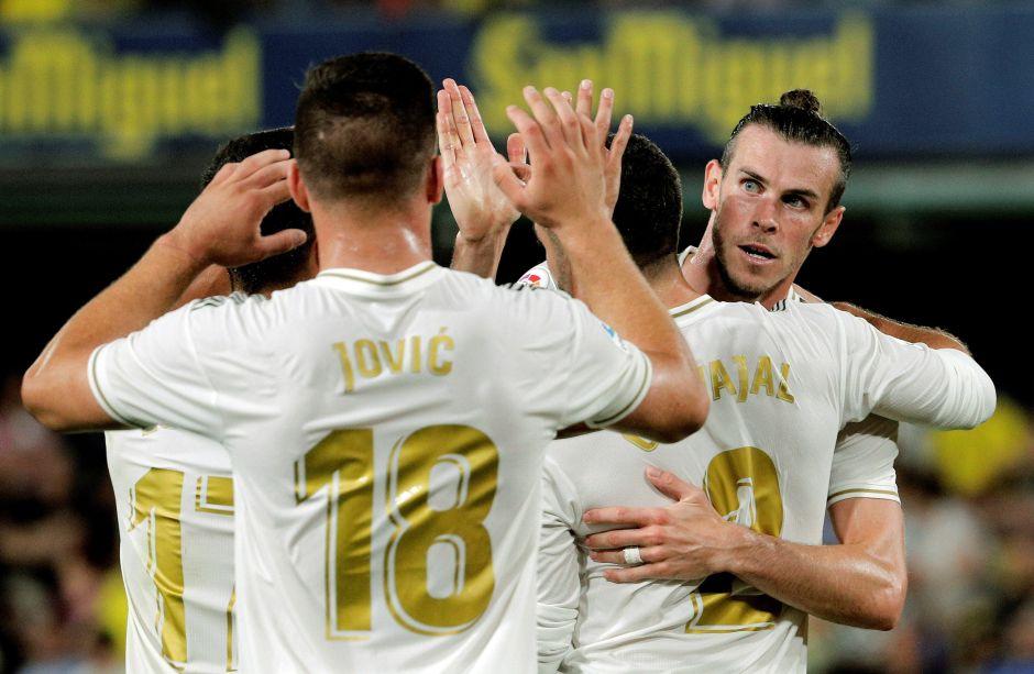 Bale salva al Madrid de caer ante el Villareal