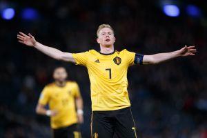Bélgica vuela con De Bruyne y hace trizas a Escocia