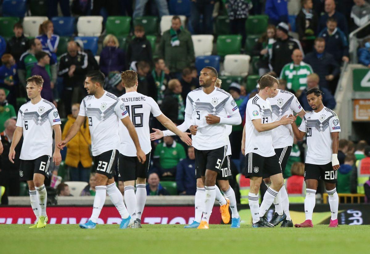 Alemania sufre, pero recupera liderato de cara a la Euro 2020