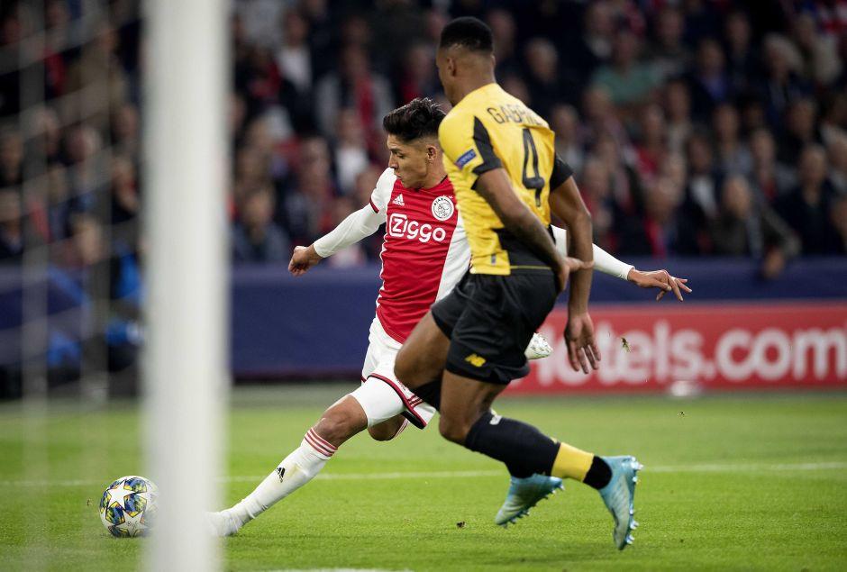 ¡Fecha redonda! Ahora Edson Álvarez está nominado al mejor gol de la semana en Champions League