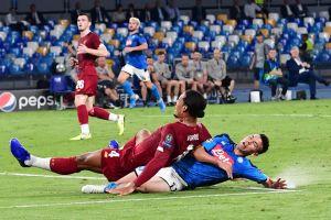 Napoli con 'Chucky'  de titular le pega duro al Liverpool