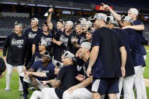 ¡Por fin! Yankees ganan primer título divisional desde el 2012 y aseguran playoffs
