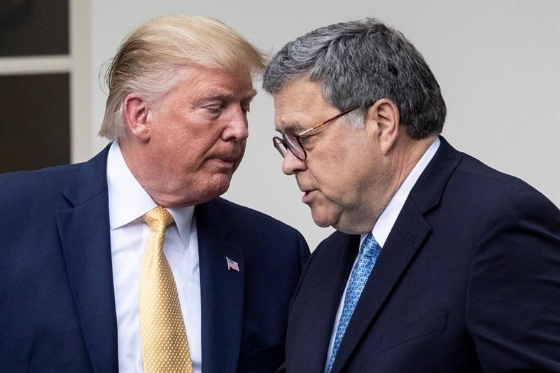 """Trump tilda de """"partidista"""" la investigación sobre su llamada a presidente de Ucrania"""