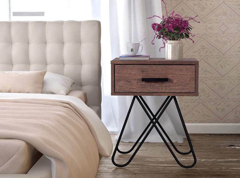 5 estilos de mesas de noche para darle un toque decorativo y práctico a tu habitación