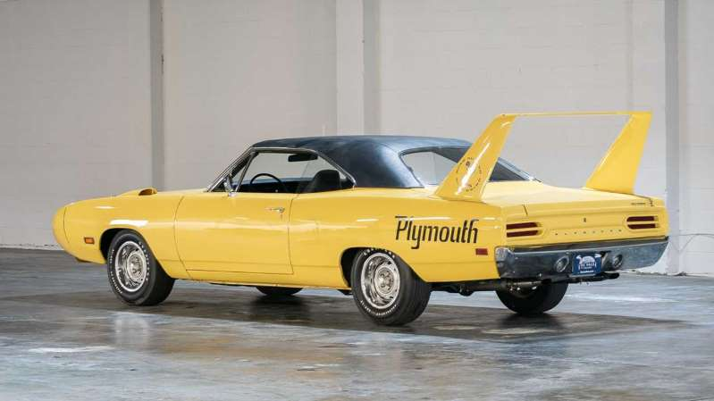 Este Plymouth Superbird de 1970 ha sido conservado como una joya y vale miles de dólares