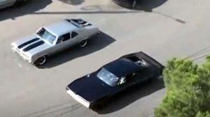 Imágenes espías del Challenge STR que Vin Diesel usará en 'Fast & Furious 9'