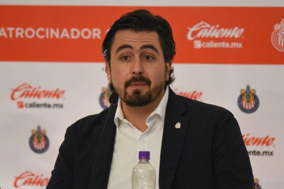 """Ya les gustó: llegarán """"un par de sorpresas más"""" a Chivas, dice Amaury Vergara"""