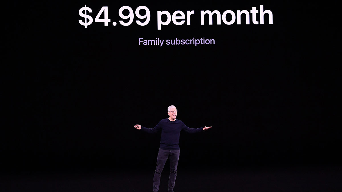 Solamente con el precio, Apple propinó un duro golpe a sus competidores.