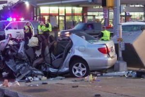 Arlington: Violento accidente dejo una persona muerta y varios heridos