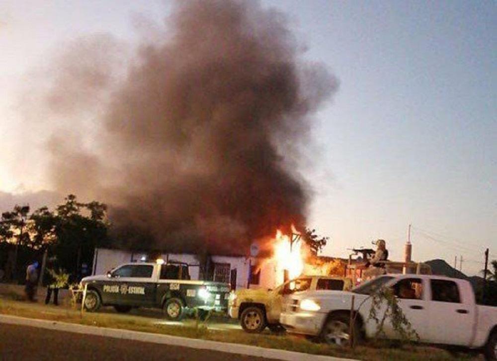 Acusan a facción del Cártel de Sinaloa de quemar vivos a dos niños