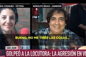 """""""Sos una hija de pu**"""", el brutal ataque en vivo del jefe de una emisora de radio a locutora"""