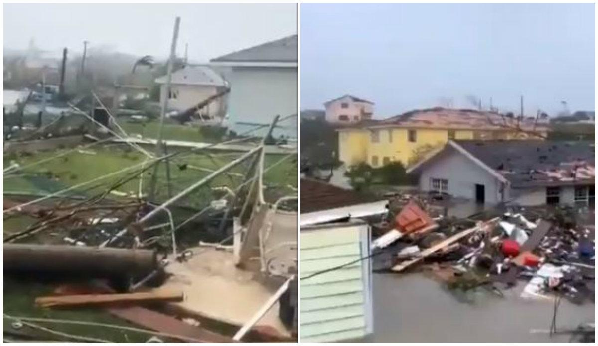 El devastador paso del huracán Dorian por las Bahamas