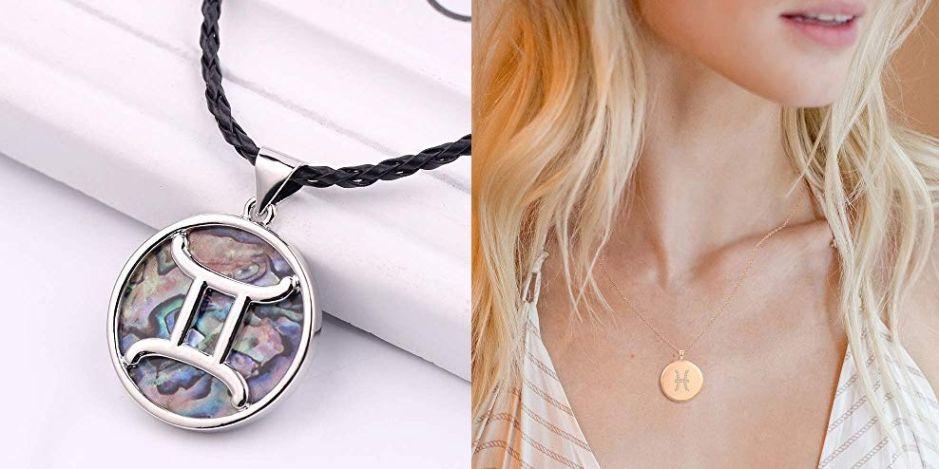 4 estilos de collares con dijes de signos zodiacales para atraer las buenas energías