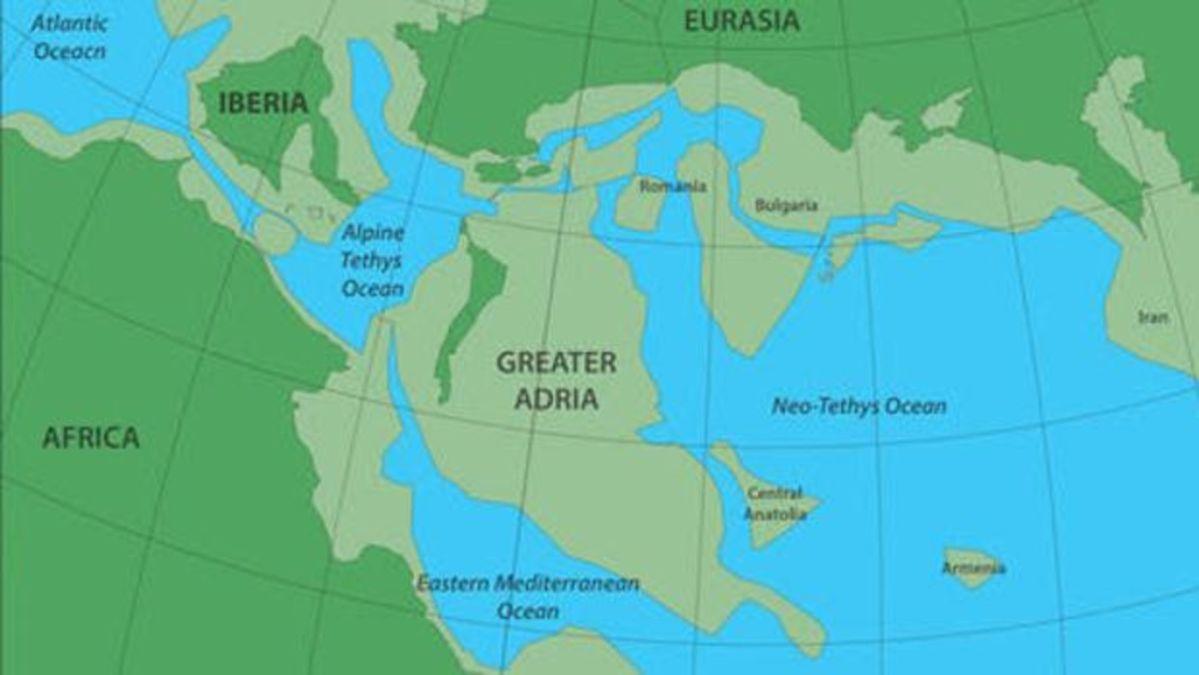 Hallan restos de un continente perdido, enterrados al sur de Europa
