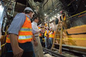 Reparaciones en túnel del tren L terminarán antes de lo proyectado
