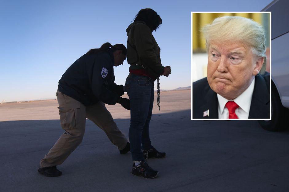 Trump anunció que deportaría más rápido a muchos inmigrantes, pero no lo está haciendo