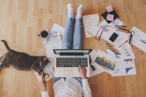 Para trabajar, ¿la sala o la oficina?