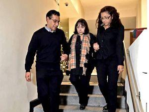 María Antonieta de las Nieves da el último adiós a su esposo