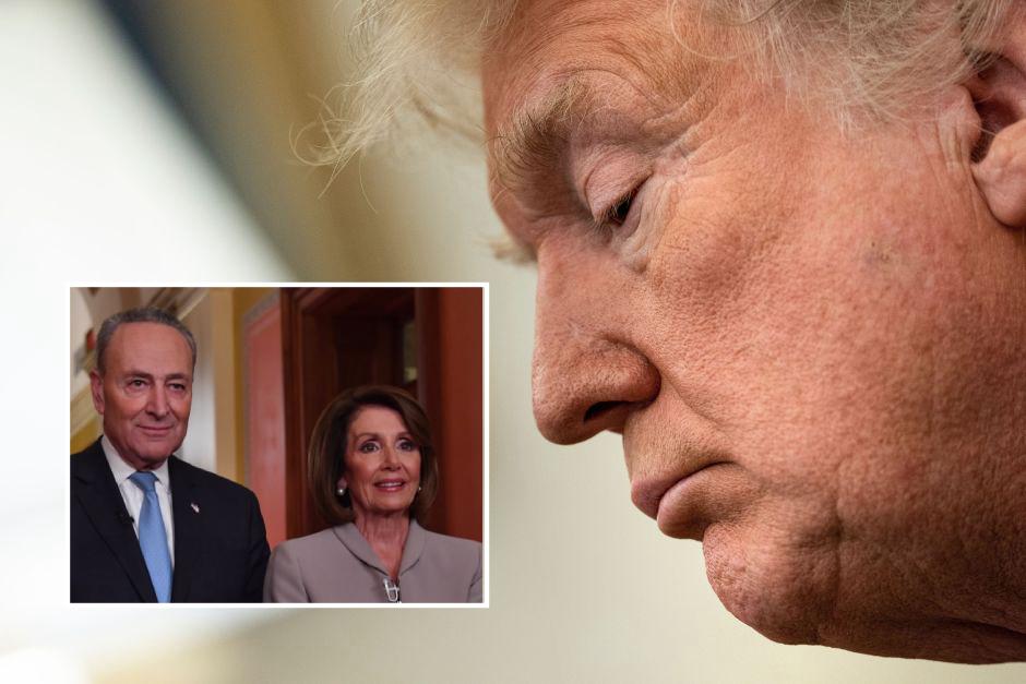 Líderes demócratas en el Congreso llaman a Trump para forzar la restricción de armas