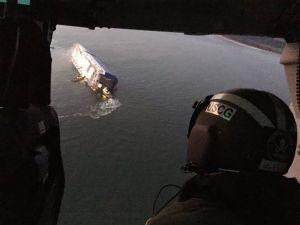 Buque de carga naufraga frente a la costa de Georgia