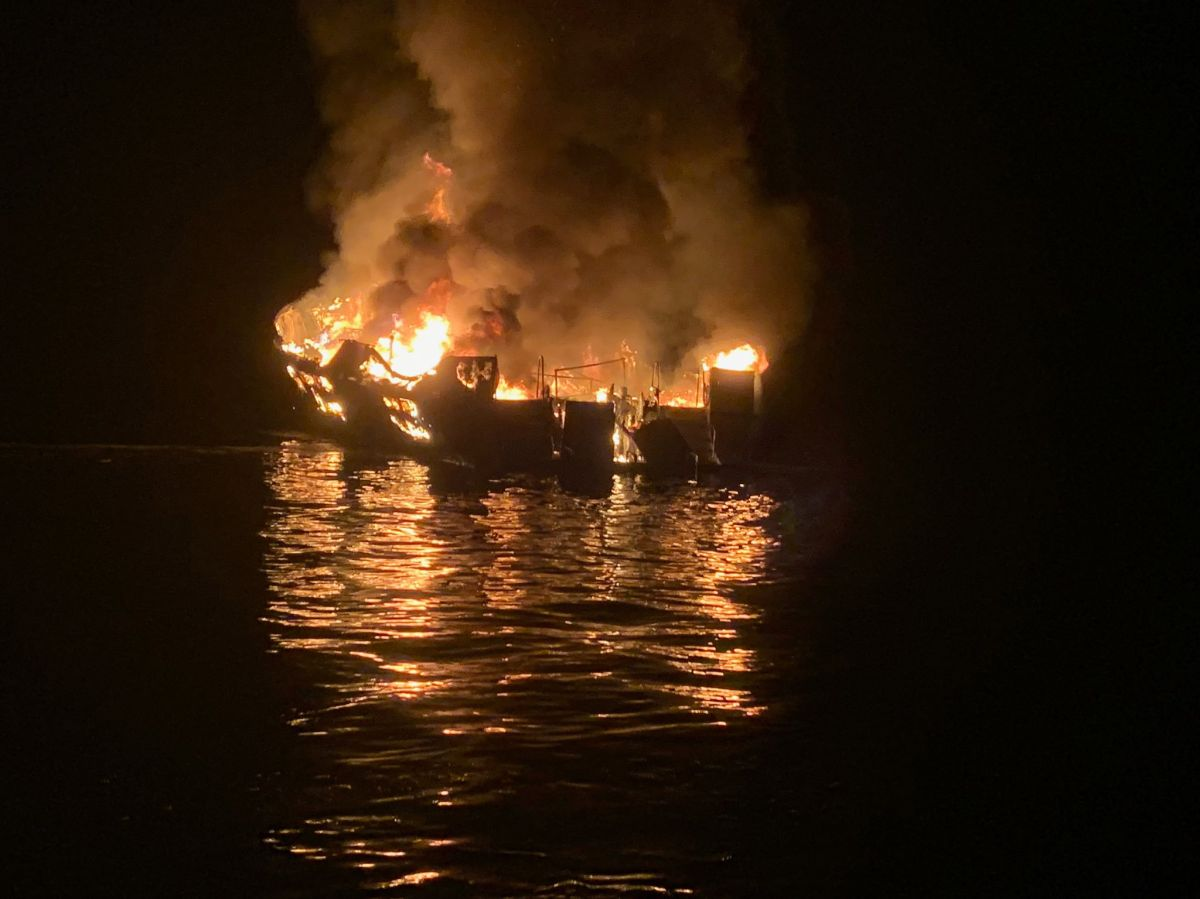 Autoridades investigan posibilidad de crimen en oficinas del dueño del bote incendiado en California