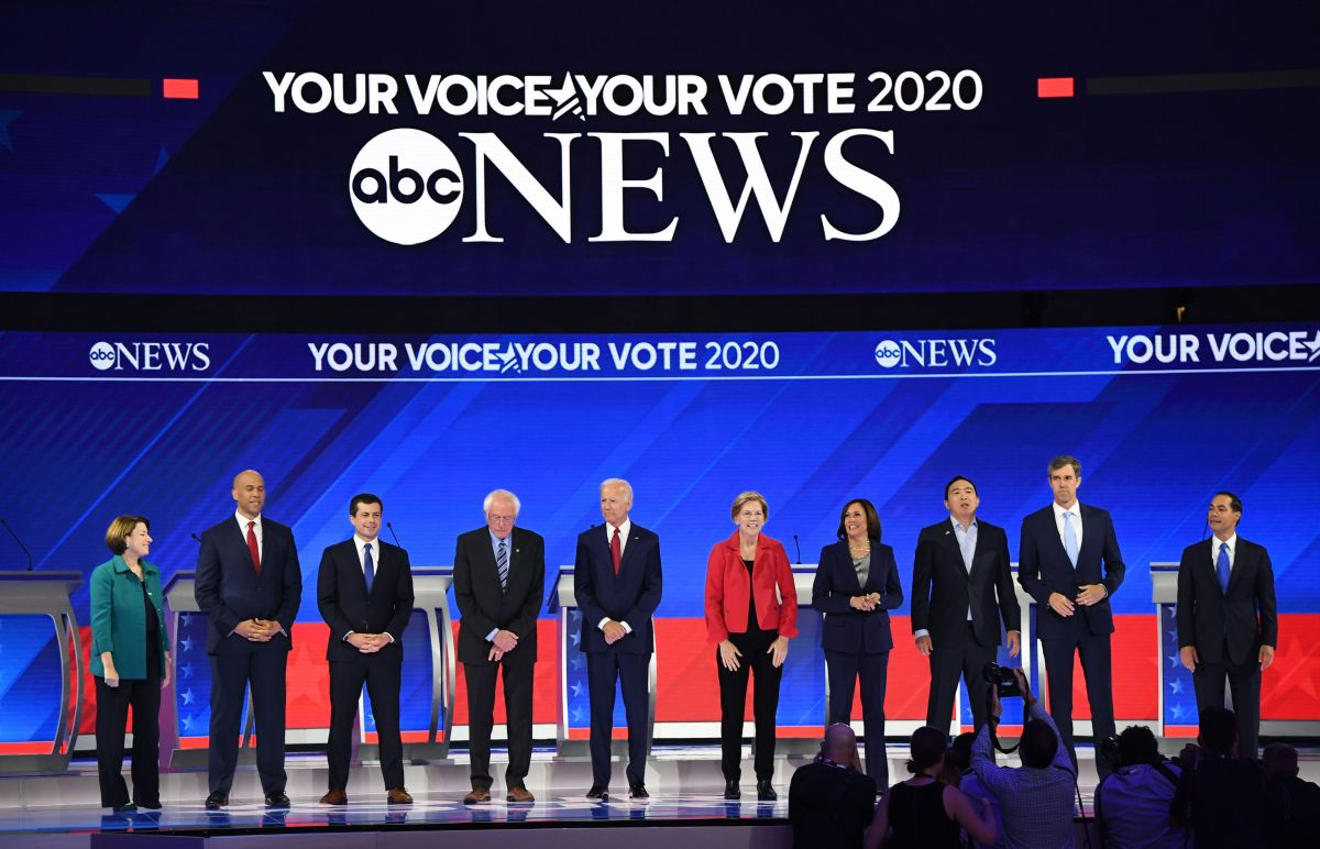 Debate demócrata: Candidatos esperan derrotar a Trump por su política de inmigración, odio y división