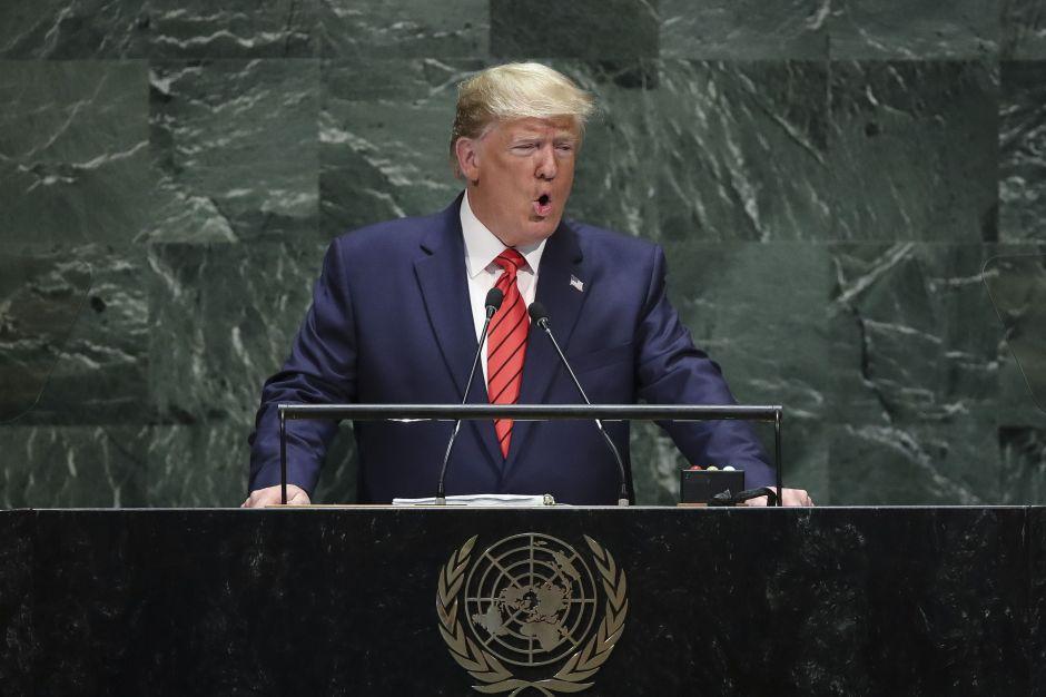 """Trump ante la ONU: """"Cualquiera que cruce la frontera ilegalmente… será devuelto a casa"""""""