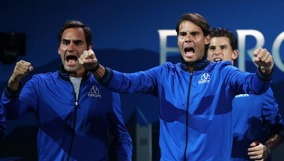 De leyenda a leyenda: Nadal aconseja a Federer para que gane en la Laver Cup
