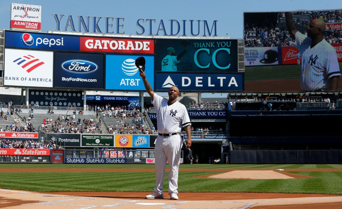 La emotiva despedida que los Yankees, familiares y amigos le dieron a CC Sabathia