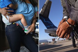 Inmigrante latino detenido enfrenta la deportación a pesar de la terrible enfermedad de su bebé