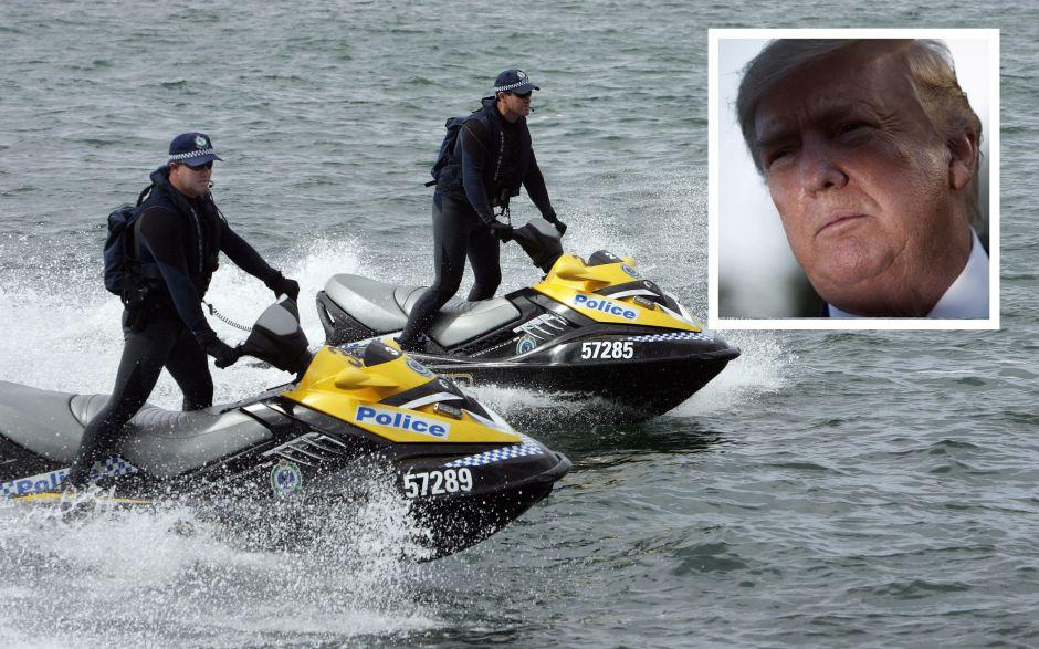 Motos de agua para proteger a Trump y a su familia. La última petición del Servicio Secreto