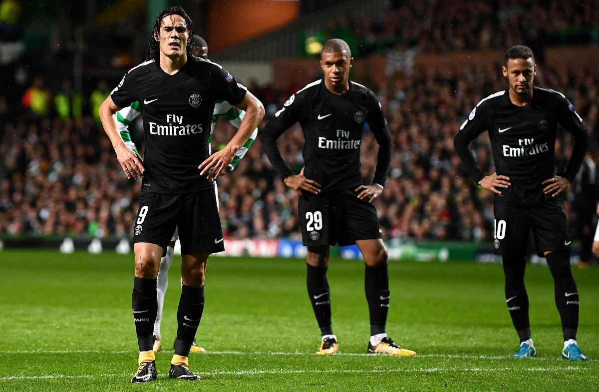 Bajas sensibles: Cavani y Mbappé no jugarán ante Real Madrid