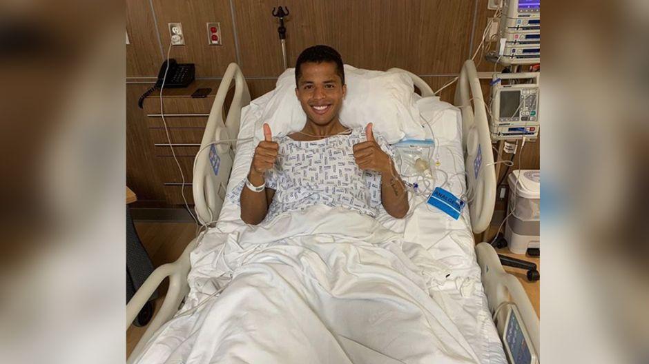 Volveré pronto y más fuerte: el mensaje de Gio desde el hospital