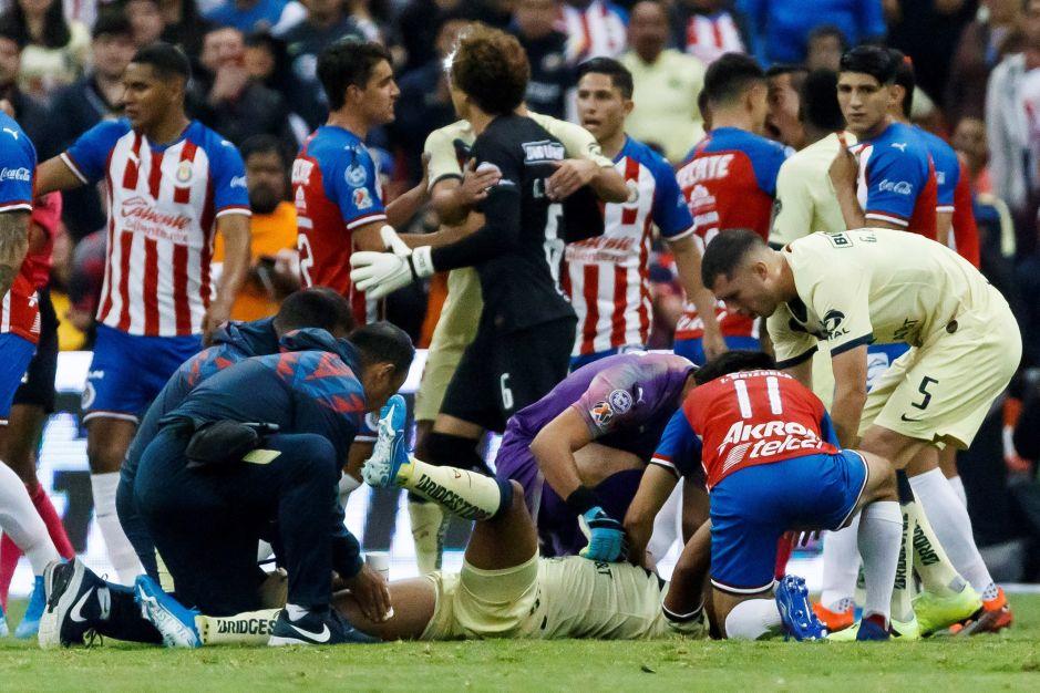 Imágenes fuertes: La espeluznante lesión de Giovani dos Santos que tiene al América en vela