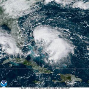 Bahamas se salva esta vez: la tormenta tropical Humberto se aleja de sus costas