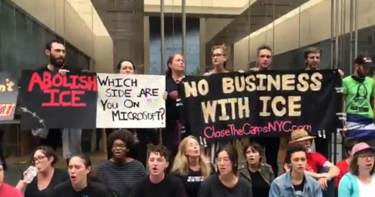 Arrestan a 76 personas en una protesta contra ICE en Nueva York