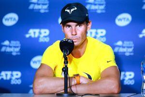 El brebaje milagroso de Rafael Nadal contra los calambres