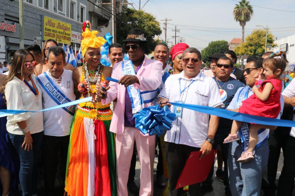 Centroamérica vive y celebra su fiesta de Independencia en Los Ángeles