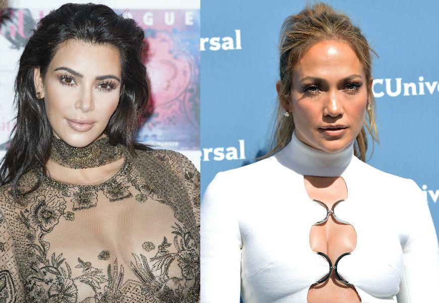 Kim Kardashian y Jennifer López.
