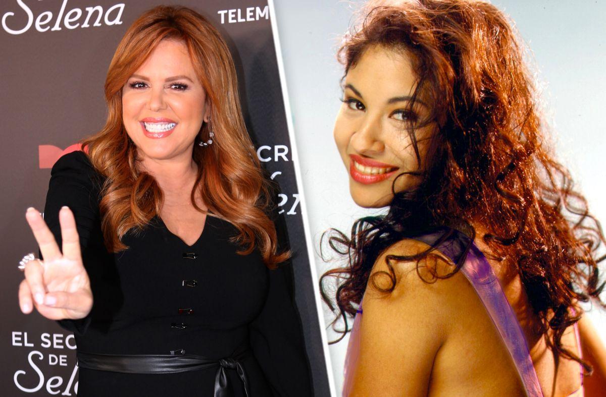 María Celeste Arrarás y Selena Quintanilla