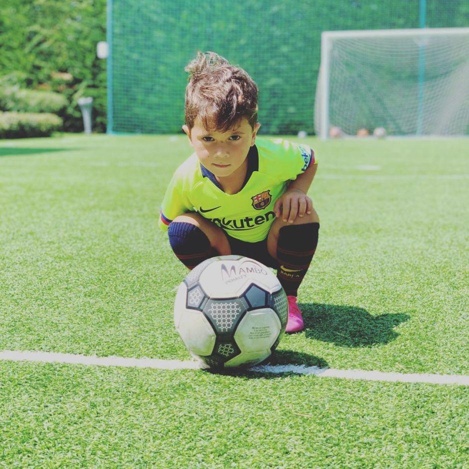 ¡Mateo Messi cumple 4 años! Aquí sus momentos más divertidos
