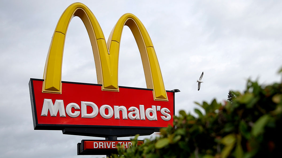 ¿Por qué el logo de McDonald's es amarillo y rojo?