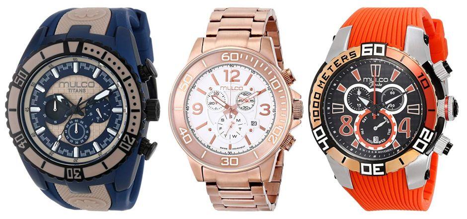 Los 5 mejores estilos de relojes MULCO por menos de $100