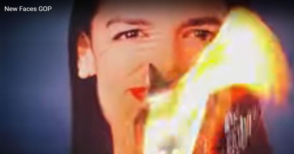 Comité republicano transmite un anuncio que muestra a AOC en llamas durante el debate demócrata