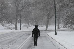 Se aproxima primera tormenta de nieve en pleno otoño en Montana