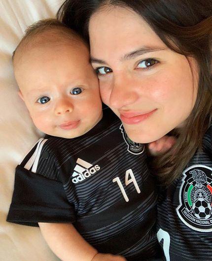 Hijo de 'Chicharito' vistió por primera vez el uniforme de la Selección Mexicana